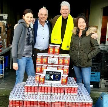 Lions leveren 258 pakken DE koffie Voedselbank Etten-Leur
